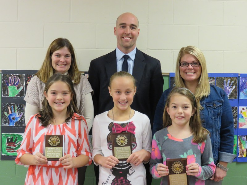 WVE Students Recognized by Board