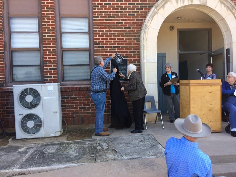 Texas Historical Marker Unveiled at the Red Brick Building Thumbnail Image