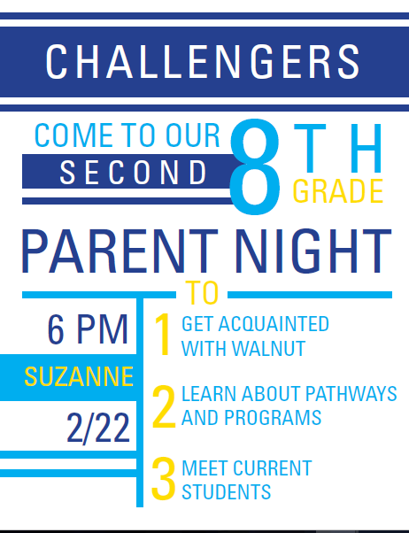 Suzanne 8th Grade: Parent Night Thumbnail Image