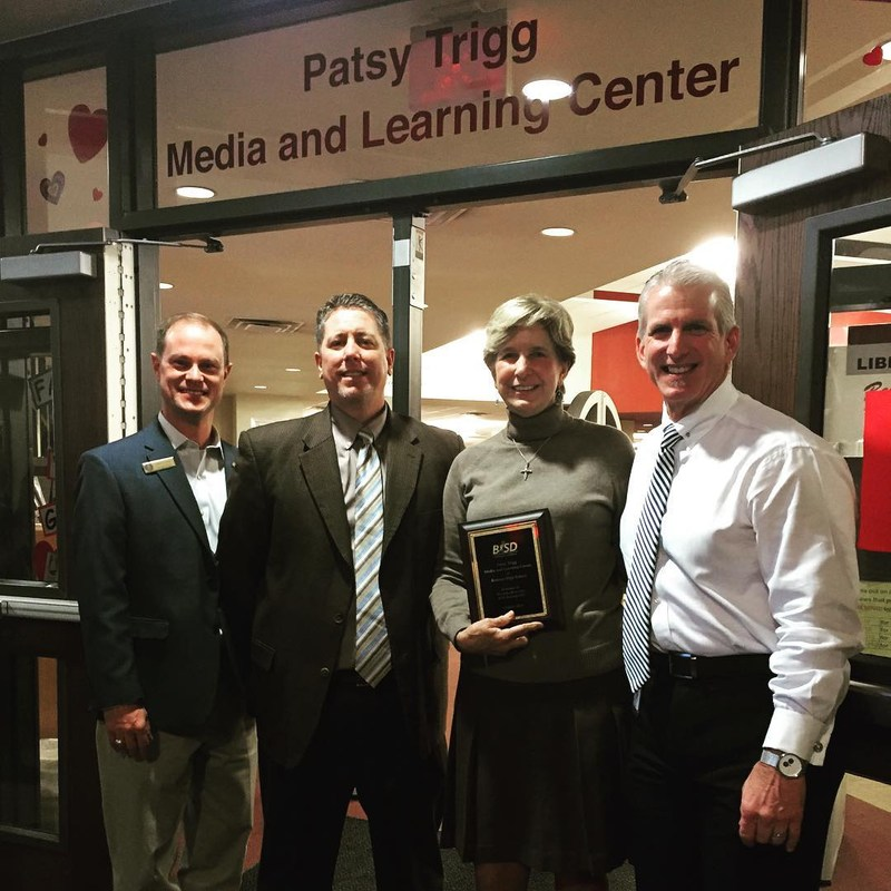 BHS unveils Patsy Trigg Media and Learning Center