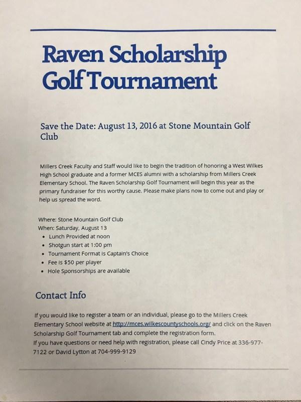 1st Annual Raven Golf Tournament Thumbnail Image
