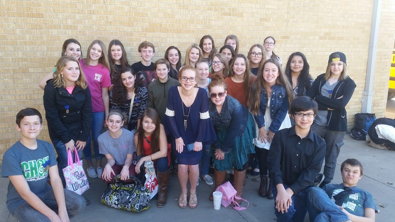 CJH CHOIR MEMBERS DO WELL AT SOLO AND ENSEMBLE