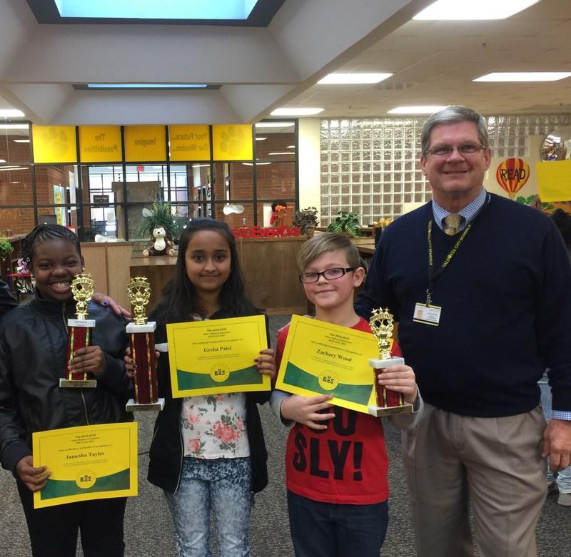 Sallas Mahone Spelling Bee Winners