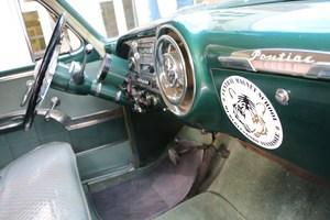 Interior of 1953 Pontiac Chieftan