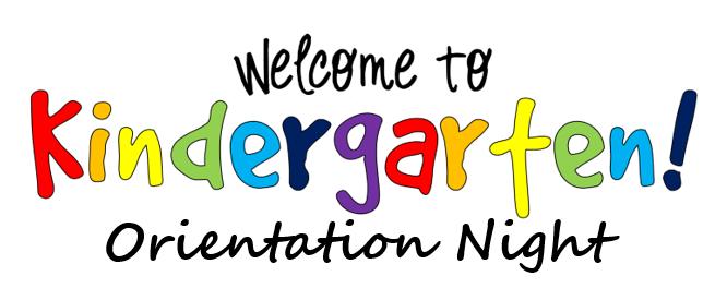 Kindergarten Parent Orientation slide show Thumbnail Image