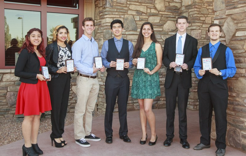 Hemet and San Jacinto's seven students of the month