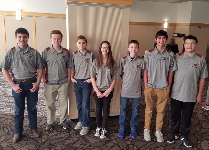 Congratulations to out 7th & 8th Grade MATHCOUNTS Team!!! Thumbnail Image