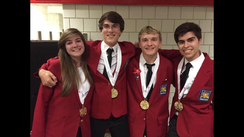 CSHS Students Shine at SkillsUSA Nationals
