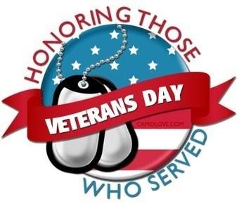 Veteran's Day Holiday
