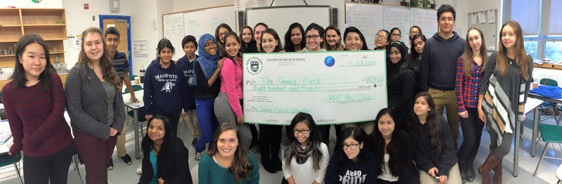 MHS Key Club Gives to Giving Circle
