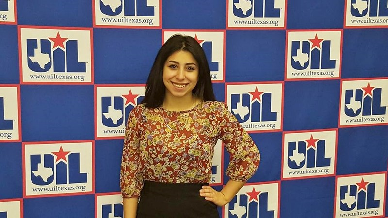 Alesia Macias at State Competition