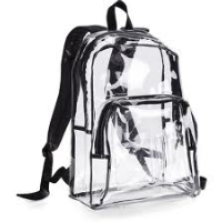 REMINDER: See Through and Mesh Backpacks