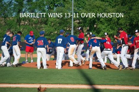 Bartlett High JV Baseball Wins Regional Tournament
