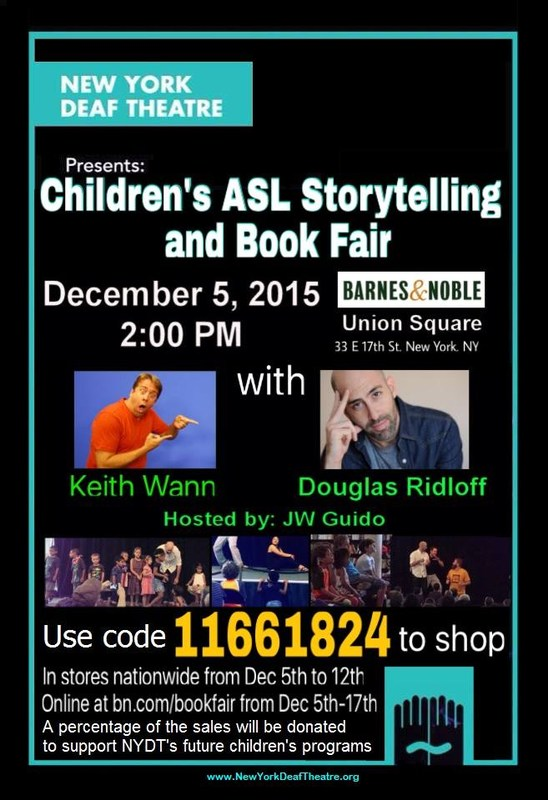 Children's ASL Storytelling and Book Fair
