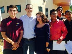 JSA Club Joins L.A. Mayor Eric Garcetti's Door-to-Door Force