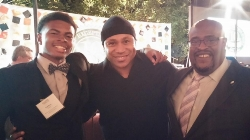 Neuwirth Students with LL Cool J Celebrate Alliance's 10th Anniversary.