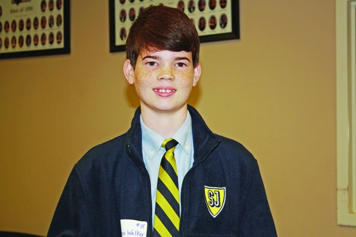 Seventh grader wins Spelling Bee Thumbnail Image