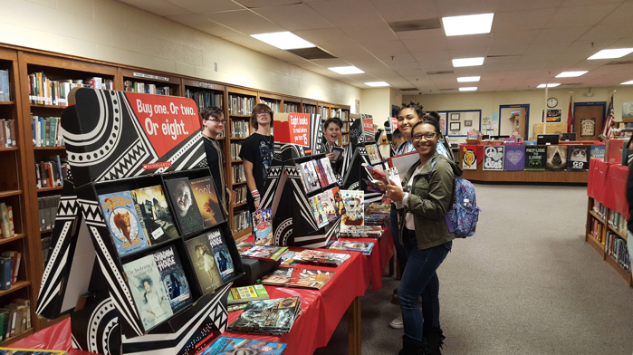 Fayette-Ware Comprehensive High School Holds Annual Scholastic Book Fair Thumbnail Image
