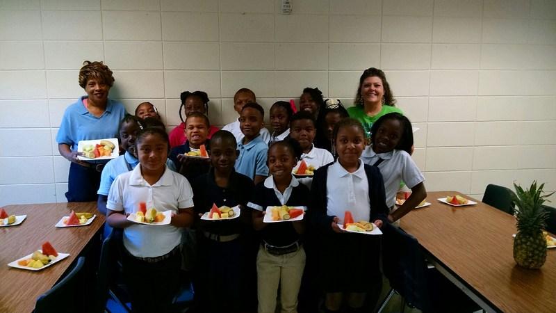 Radium students combine literature and healthy eating habits Thumbnail Image
