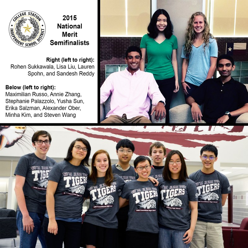 Twelve CSISD seniors named National Merit Scholar Semifinalist