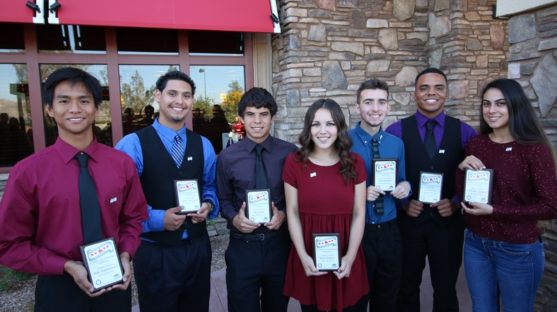 Hemet Unified Announces its October Students of the Month