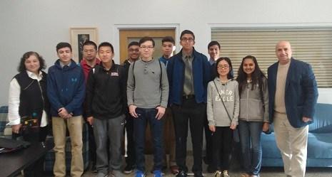 Secaucus High School Mathematics Honor Society, Mu Alpha Beta, Wins First Place at Seton Hall Mathematics Competition on November 19th Thumbnail Image