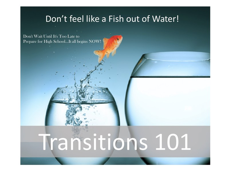 Transitions 101:   Prepare for High School Now!