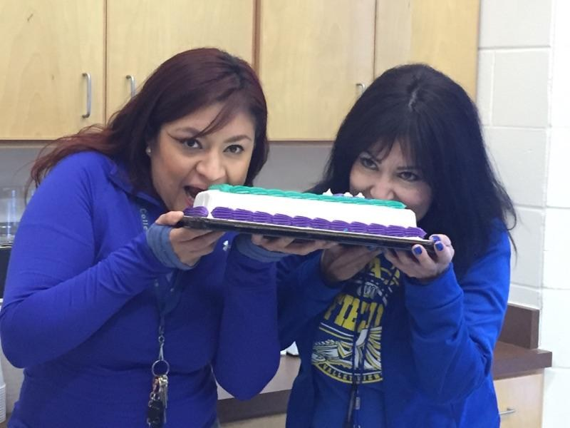 Happy Counselor's week to Mrs. D. Martinez and Mrs. Y Gomez
