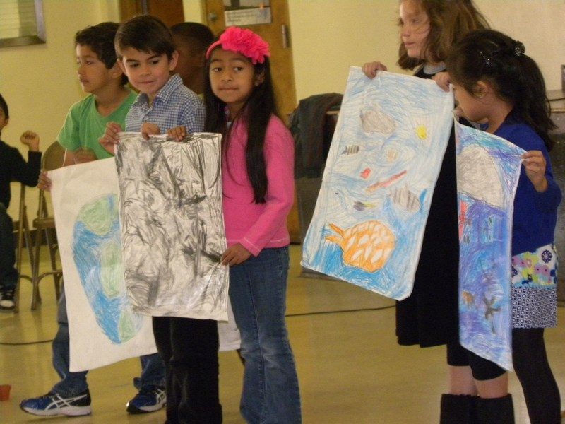 1st Grade Hosts Earth Day Prayer Service