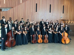 Orchestra receives SWEEPSTAKES AWARD at U.I.L.