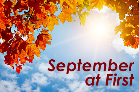 September at First Lutheran
