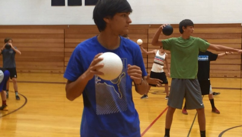 CCHS Sports for Life - Dodgeball Mannequin Challenge Thumbnail Image