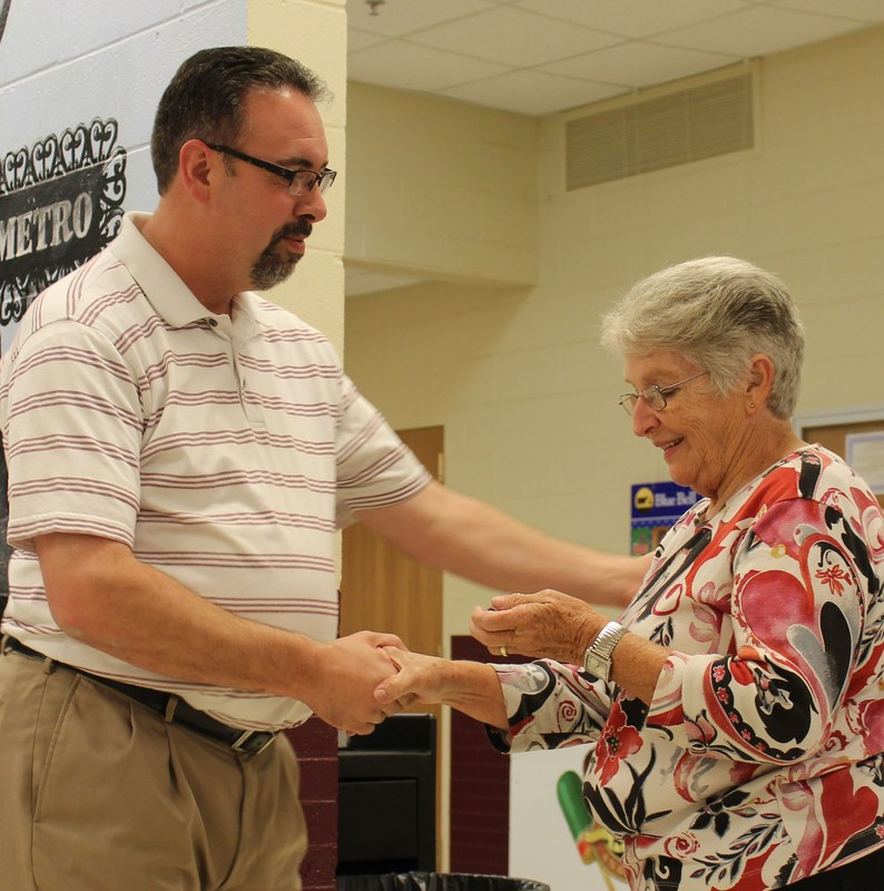 Teachers Honored at Luncheon