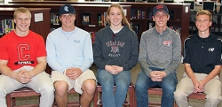 Athletes Sign College Scholarships