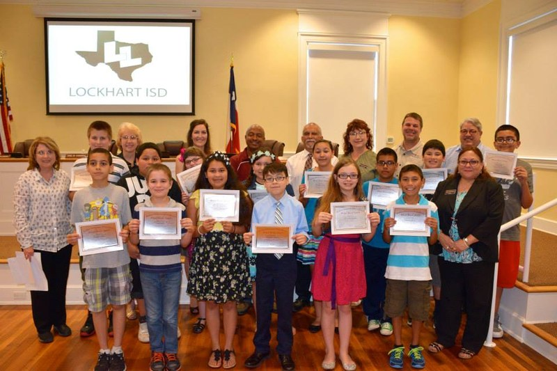 MILLION WORD CLUB READERS RECOGNIZED AT SCHOOL BOARD MEETING
