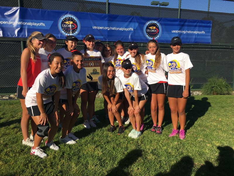 Girls Tennis CIF Champs!! Thumbnail Image