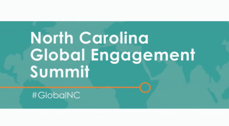 MACS Speaks at NC Global Engagement Summitt