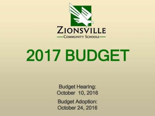 2017 Budget Presentation Thumbnail Image