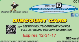 2017 Discount Card is On Sale Now! Thumbnail Image