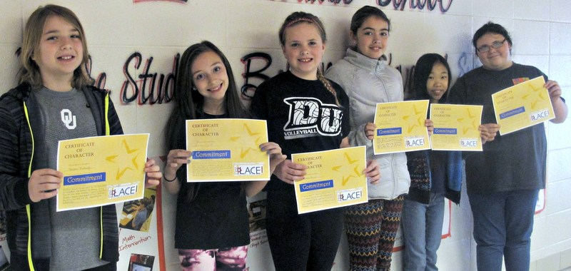 Intermediate School Awards Students for Good Character
