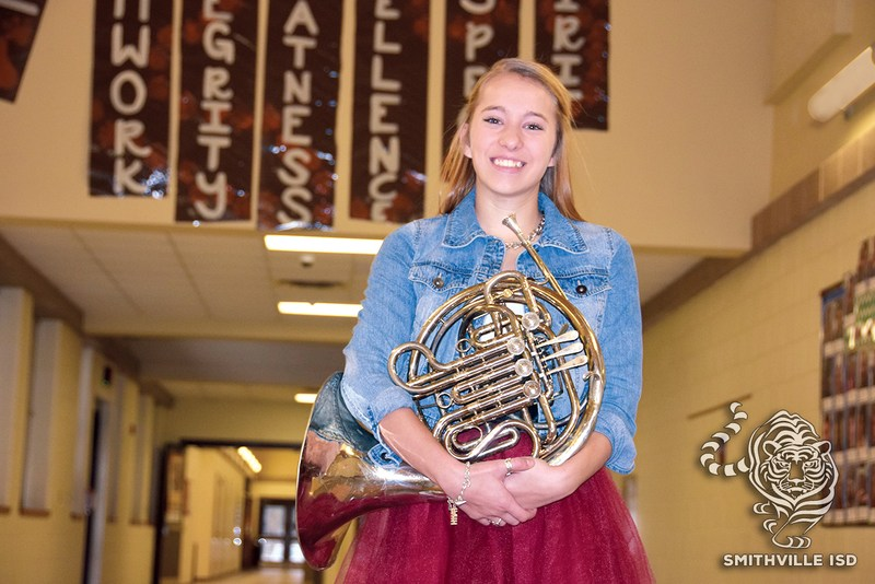 SHS Freshman Makes All-State Band