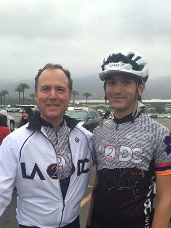David Kazarian Cycling to Bring Awareness to World Genocide with LA2DC