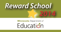 Aurora Middle School has been designated a Reward School!