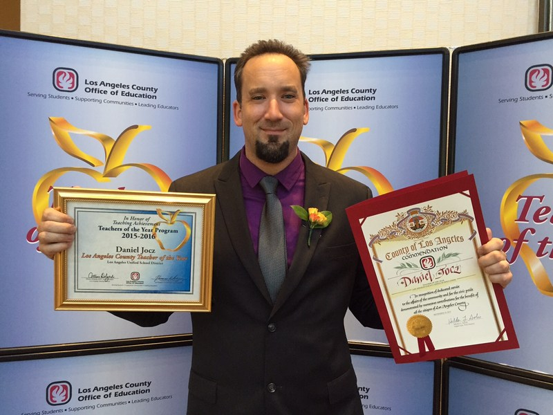 Mr. Jocz - California Teacher of the Year