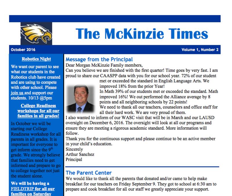 Principal's Message Thumbnail Image