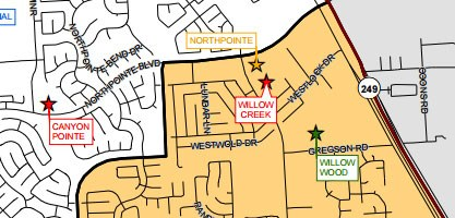 2015-2016 Elementary School Attendance Zones