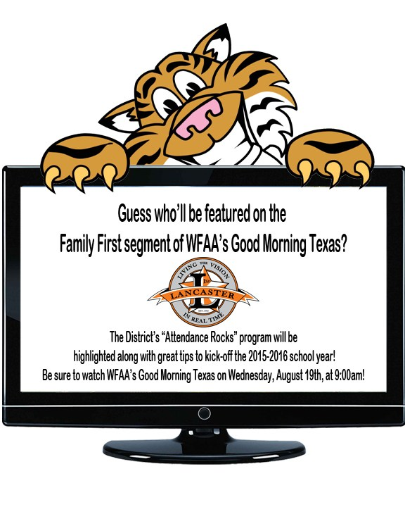 Watch Lancaster ISD on WFAA's Good Morning Texas on August 19