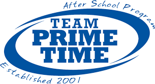 Sign up for after school enrichment, homework help, and sports with TEAM PRIME TIME!