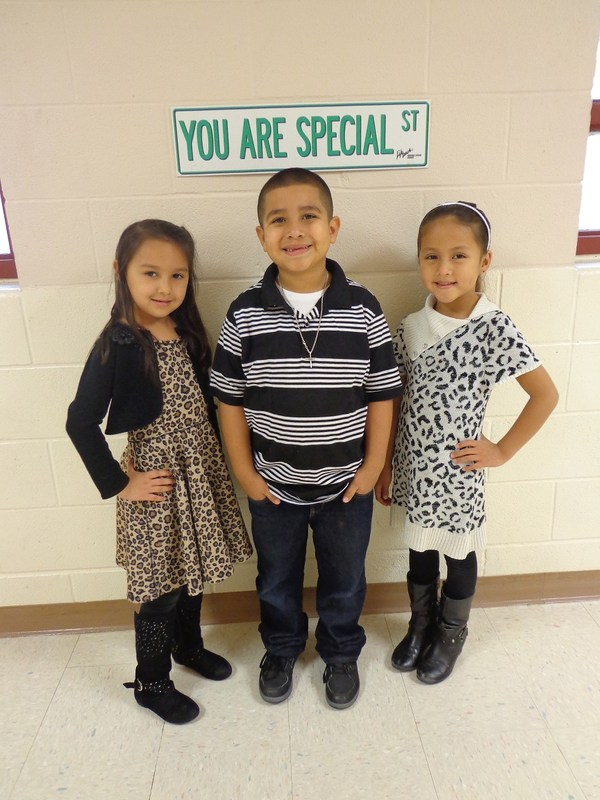 Primary:  February Students of the Month