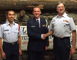 OP Freshman Up For Cadet of the Year